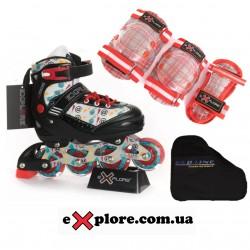 Комплект ACTIVA Explore COMBO фиолетовый
