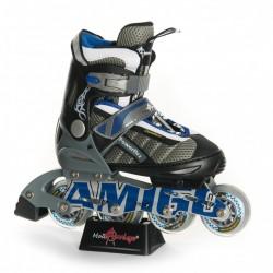 POWERFLEX  Роликовые коньки Amigosport  синий