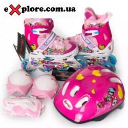 Комплект ROONEY COMBO Amigosport розовый